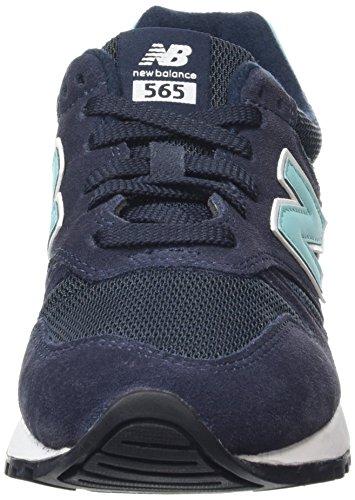 New Balance 565, Zapatillas de Running Para Mujer Multicolor (Navy/Mint)