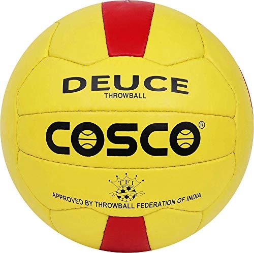 Cosco Deuce Throwball Ball   Size 5, Yellow