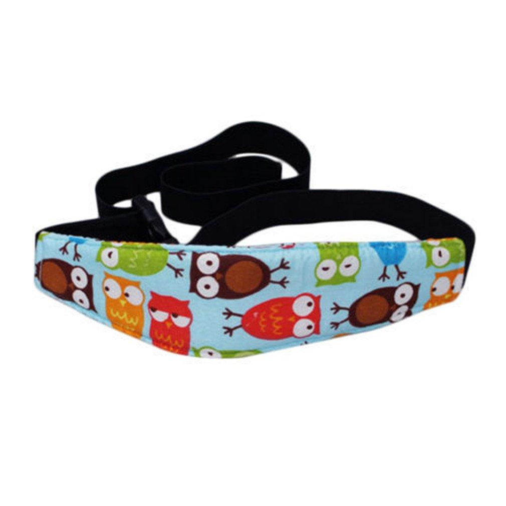 XMCOWAYOU Safety Baby Kids Stroller Car Seat Sleep Nap Aid Head Fasten Support Holder Belt