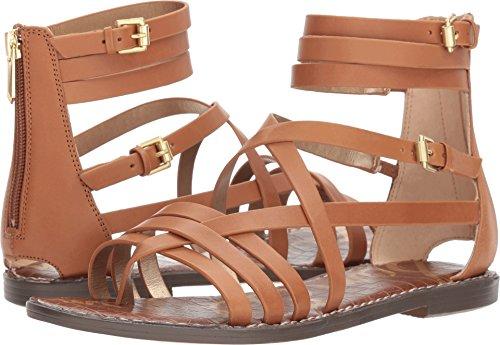 Sam Edelman Women's Ganesa Sandal, Saddle, 7.5 M US ()