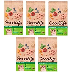 Goodlife Indoor Recipe Cat Food, 3.5 lbs (5)