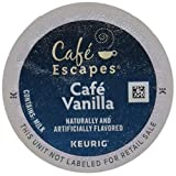 Café Escapes Keurig K Cups, Vanilla, 24 Count Review
