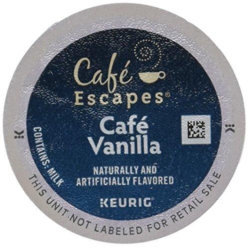 - Café Escapes Keurig K Cups, Vanilla, 24 Count