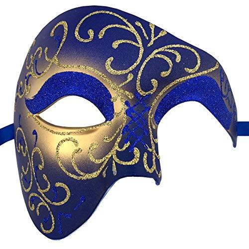 Xvevina Luxury Mask Mens Phantom of The Opera
