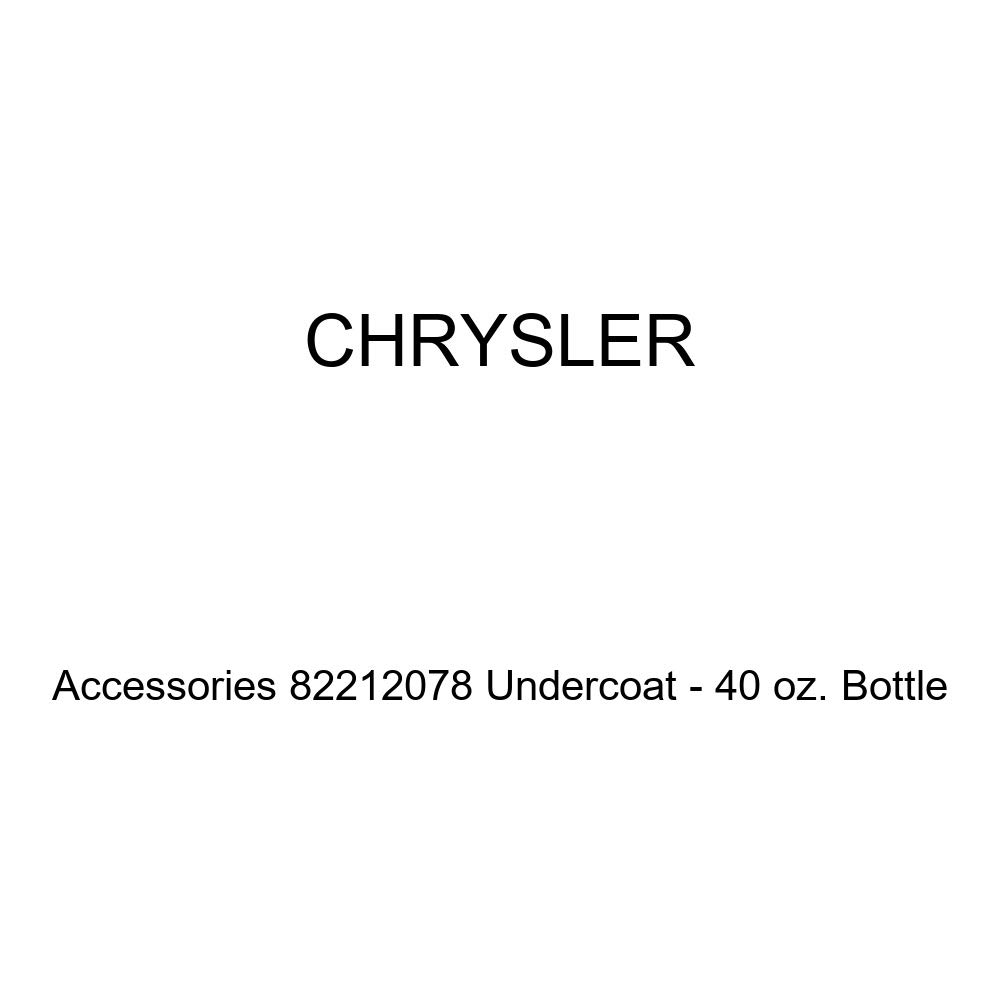 Chrysler Genuine Accessories 82212078 Undercoat - 40 oz. Bottle
