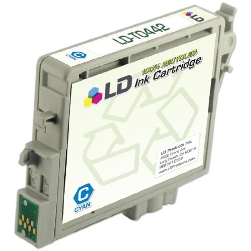 LD Products Remanufactured Ink Cartridge Replacement for T044220 Epson ( Cyan ) (Cyan T044220 Ink)