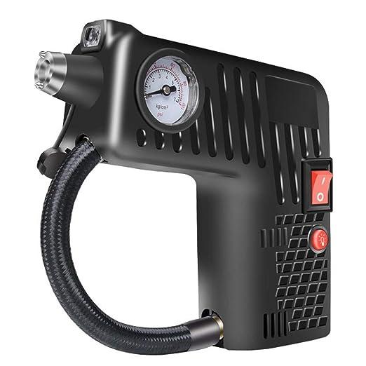 omufipw Compresor de Aire portátil inflador de neumáticos de Viaje ...