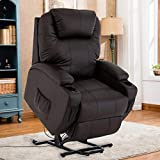 Mecor Lift Chair for Elderly Power Lift Recliner Chair Bonded Leather...