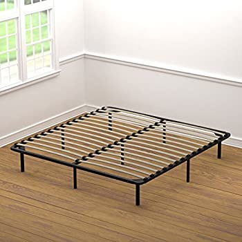 this item handy living wood slat bed frame king