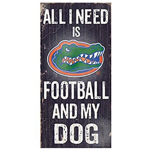 NCAA Official National Collegiate Athletic Association Fan Shop Authentic Wooden Signs (Florida Gators - Football and -