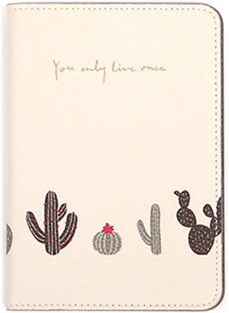 Blue liyhh Lovely Animal Plant Women Travel Passport Card Holder Case Protector Storage Bag