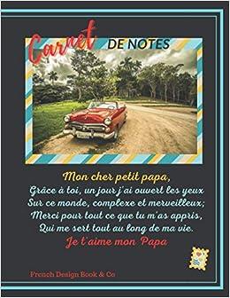 Amazon.com: carde notes: cahier d'écriture pour mon papa