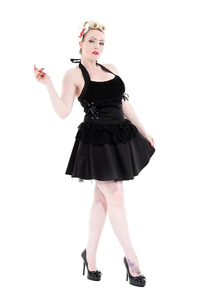 Saloon Girl Costume | Victorian Burlesque Dresses & History Hearts & Roses Barbarella Mini Dress (Shipped from The US and US Sizes) $54.88 AT vintagedancer.com