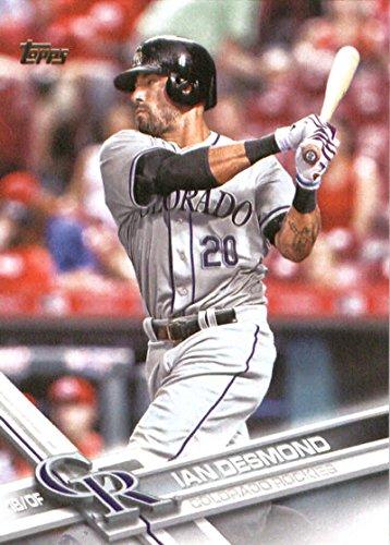 2017 Topps Series 2 #589 Ian Desmond Colorado Rockies Baseball Card