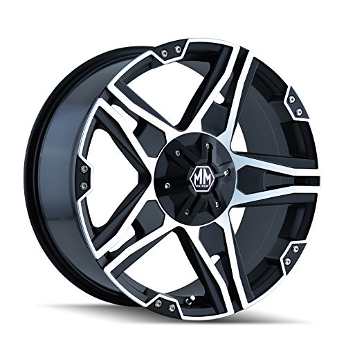 Mayhem Patriot 8080 Matte Black Wheel with Machined Face - Matte Light M20