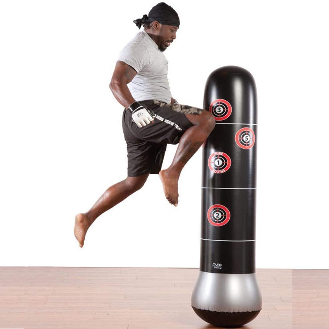 Jintes Kick Training Inflatable Boxing Punching Bag Sandbag Adult Children Sport Sandbags