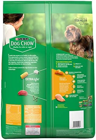 Comida para Perros Adultos, Dog Chow, Razas Minis y Pequeñas, 7.5 kg 3