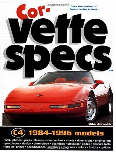 1984 Mike - Corvette Specs: 1984-1996 Models