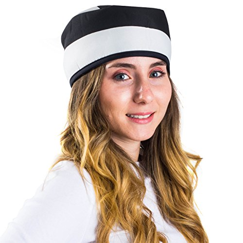 Jailbird Costume Accessories (Jail Costume - Prison Hat - Prisoner Costumes - Jailbird Costume - Costume Hats by Funny Party Hats)