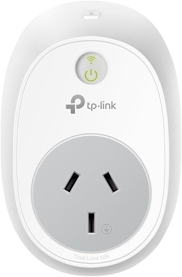TP-LINK HS100 - Enchufe Inteligente inalámbrico (Funciona con la aplicación de automatización de TP-LINK KASA para Android y iOS, Control inalámbrico vía TP-LINK Cloud), Color Blanco
