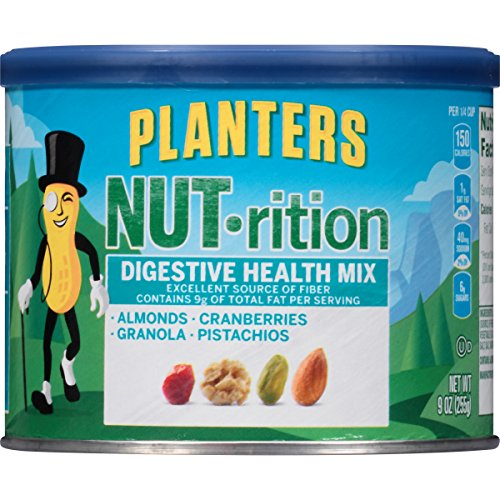Planters Nut-Rition Digestive Health Mix, 3 Count, 27 (Health Nut)