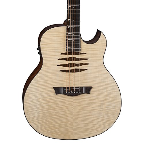 Dean Mako Dave Mustaine Acoustic-Electric Flame Top Guitar, Gloss Natural