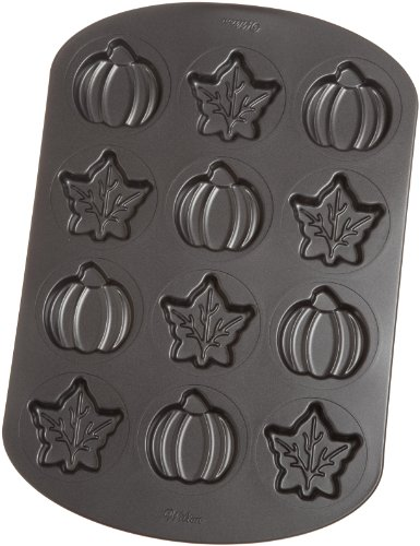 Wilton 12 Cavity Nonstick Harvest Whoopie Pie (Recipe For Wilton Halloween Cookie Pan)
