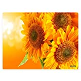 """YISUMEI 40"""" x 50"""" Blanket Comfort Soft for Couch Tapestry Gorgeous yellow sunflower"""