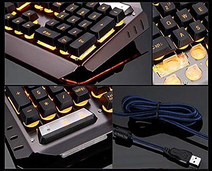 Technology Mamba XM-K670 Suspended Keycap USB Wired Backlit Gaming Keyboard