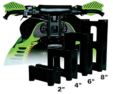 4 PowerMadd 45529 Pivot Style Riser Block for  Ski Doo