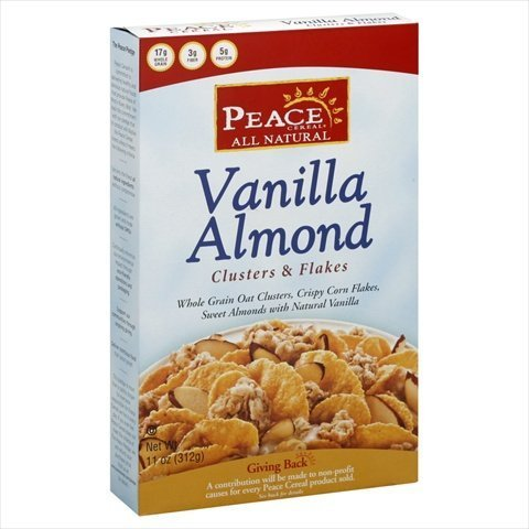 Peace Cereal Vanilla Almond 11oz (pack of 6)