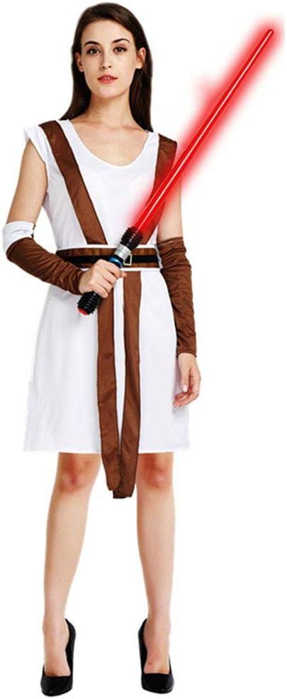 Vestidos de Halloween, Disfraz de Leia Princesa Rey para Adultos ...