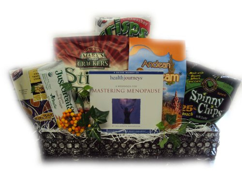 Homeopathic Menopause Relief Healthy Gift Basket by Well Baskets by Well Baskets