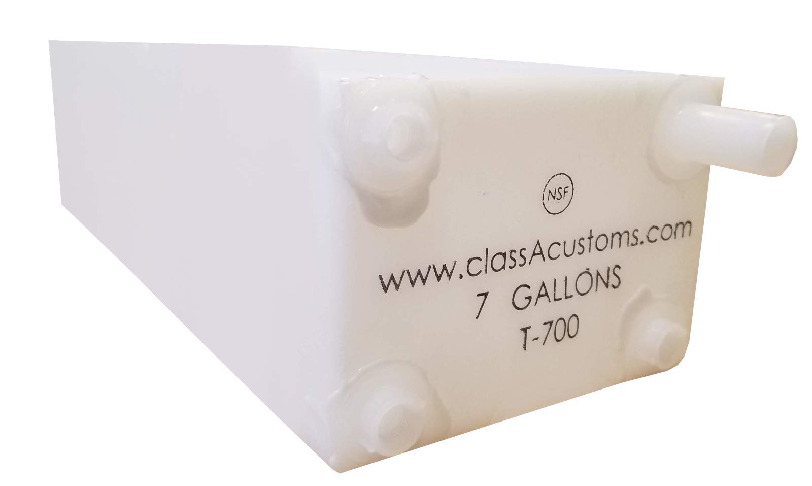 Class A Customs Spouted 7 Gallon Water Holding Tank T-700-SP