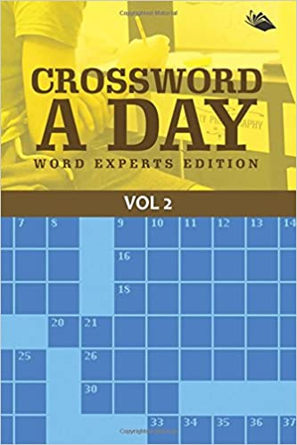 Crossword A Day Word Experts Edition Vol 2