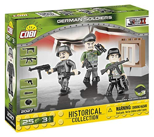 (COBI Historical Collection German Soldiers Toy, Multicolor)