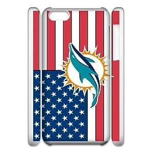 iphone5c Phone Case White Miami Dolphins JGL578995