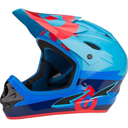 SixSixOne - Comp Helmet , Bolt, Red/Blue, CPSC,