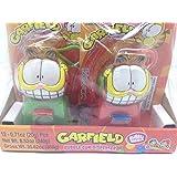 Garfield Bubble Gum Dispenser, 12 Count, Red-Green