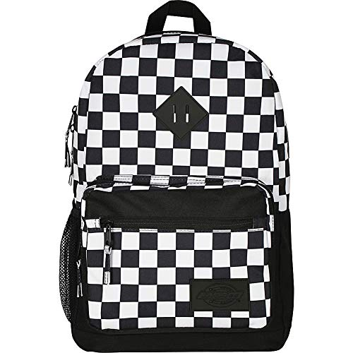 Dickies Study Hall Backpack BLK/White Checker One Size