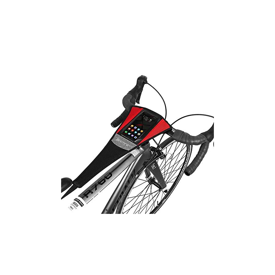 Deuter Bike Frame Sweat Cover, Guard Net Cather Absorbs Sweat Prevent Bicycle from Corrosion, Update Version for Mobile Phone