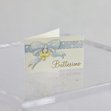 20 tarjetas de recuerdo para bautizo de niño/niña, diseño de ...