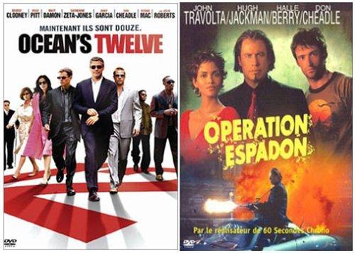 Ocean's Twelve / Op??ration Espadon - Bipack 2 DVD