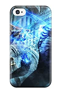 New Shockproof Protection Case Cover For Iphone 4/4s/ Raiden In Mortal Kombat Begins 2011 Case Cover