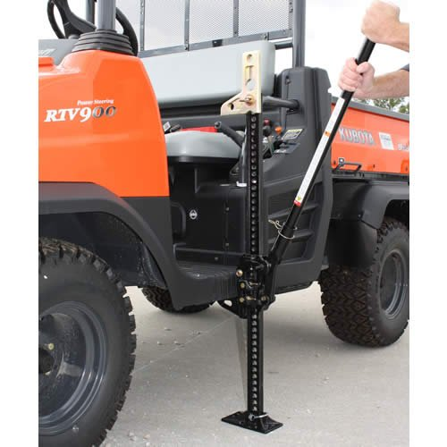 Hi-Lift Jack Utv-424 Hi-Lift Jack (black) 42in 7000lb All Black With Zinc Coated Hardware