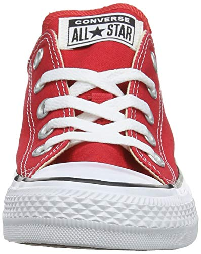 Red Mixte Chuck Basses Star Rouge Baskets Adulte All Ox Converse Taylor PIZw4