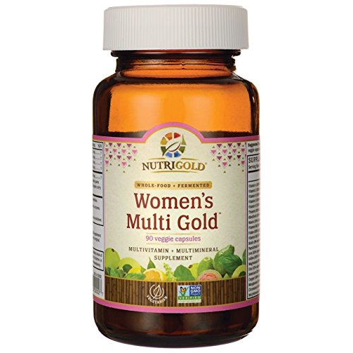 NutriGold Whole Food Womens Multi Gold product image