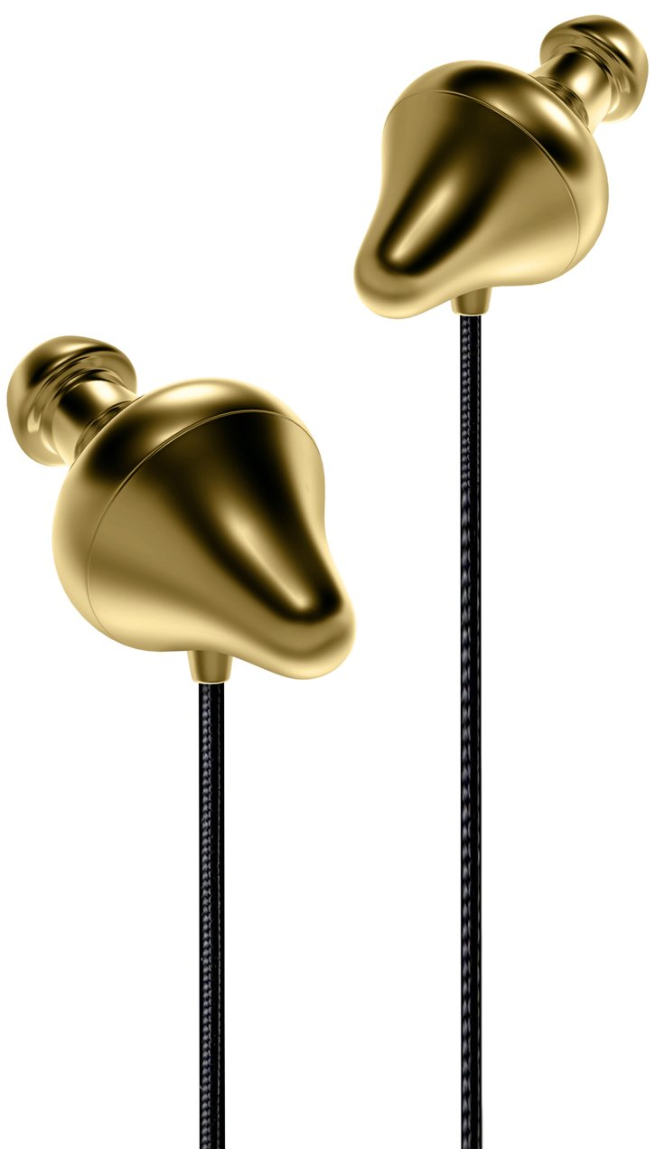 Final Audio Design Piano Forte X Dynamic Driver Open Canal Type in-Ear Monitors (Gold)