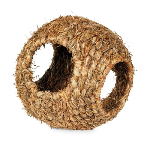 Medium Grass Ball - Prevue Hendryx 1095 Nature's Hideaway Grass Ball Toy, Large