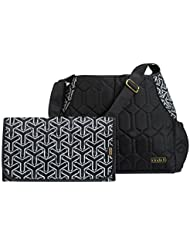 cinda b Babe-A-Licious Baby Bag, Jet Set Black